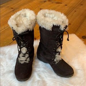 Sporto Sally brown suede winter boots Size 8.5